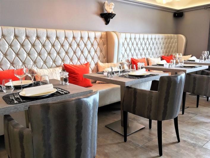 Location de vacances - Hôtel - Auberge à Mâcot-la-Plagne - Restaurant La Table du Cocoon