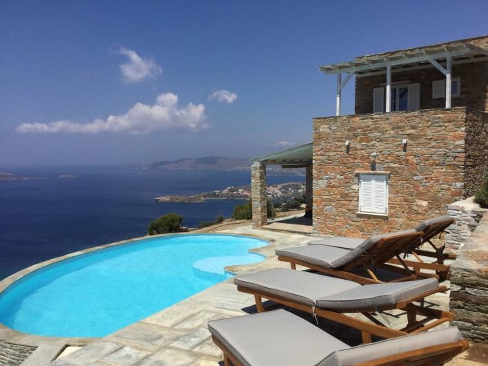 Location de vacances - Villa à Gavrio