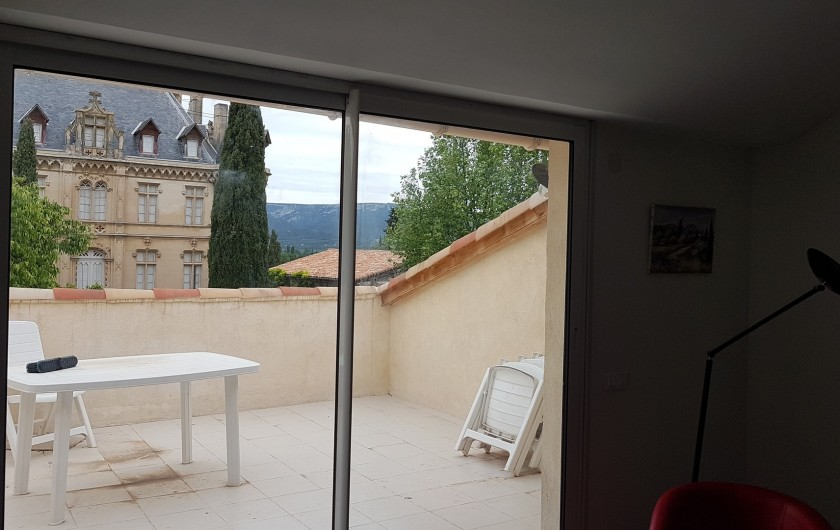 Location de vacances - Appartement à Charleval - la tropézienne de 20 m2 de l'appart 5