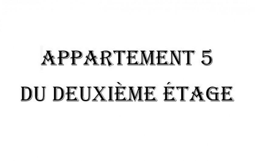 Location de vacances - Appartement à Charleval - Photos de l'appartement 5 du deuxième étage