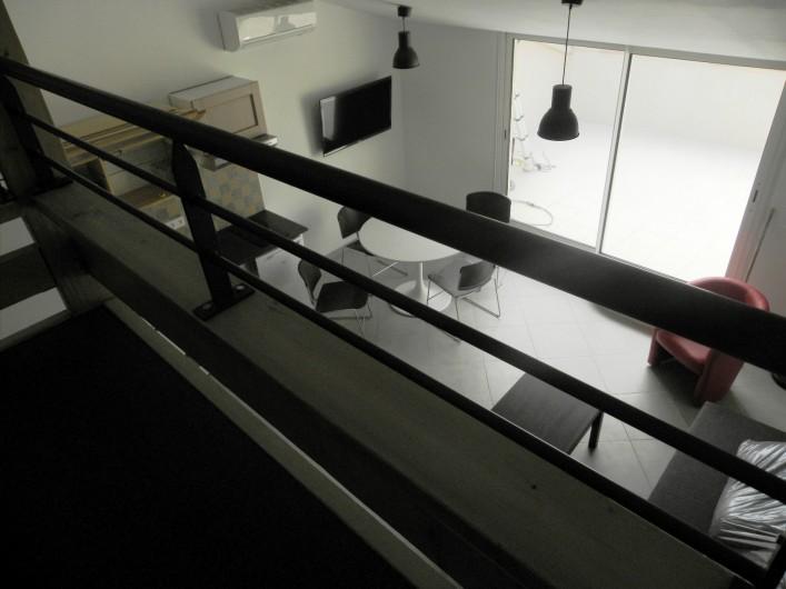 Location de vacances - Appartement à Charleval - la mezzanine de l'appart 5