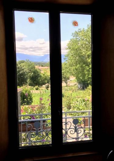 Location de vacances - Appartement à Chanaz - Vue fenêtre