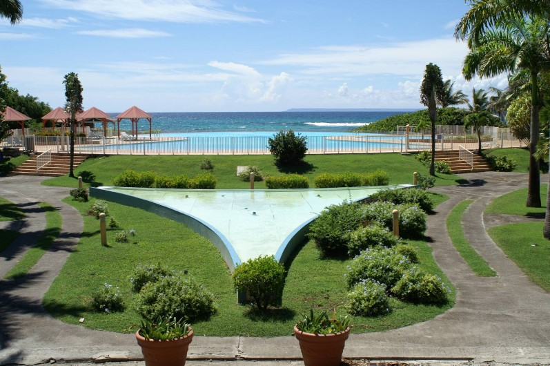 Location de vacances - Appartement à Saint-François - piscine et mer