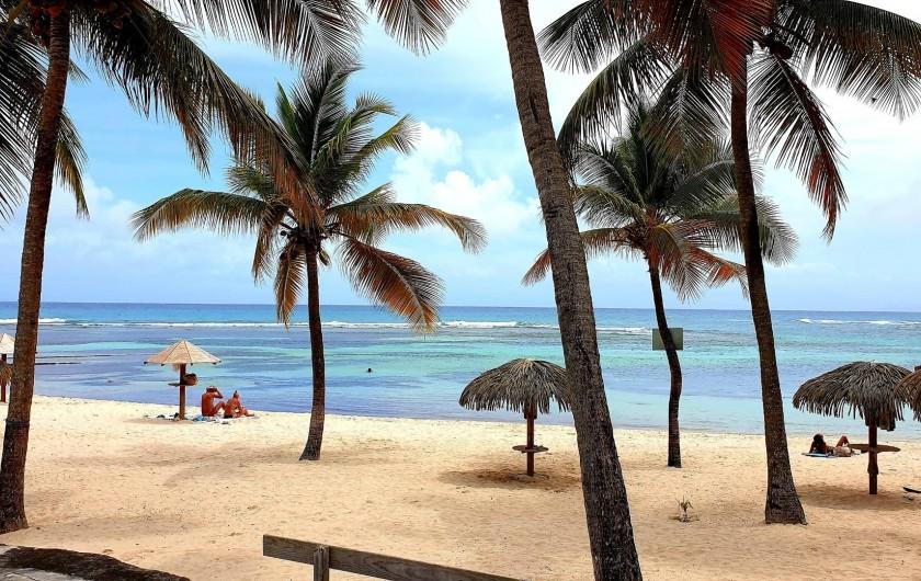 Location de vacances - Appartement à Saint-François - plage