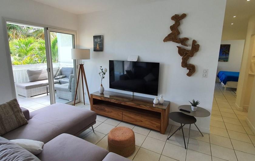 Location de vacances - Appartement à Saint-François - salon