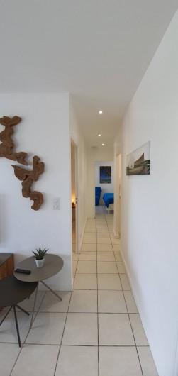 Location de vacances - Appartement à Saint-François - vue du couloir