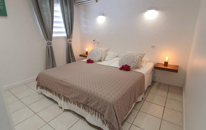 Location de vacances - Appartement à Saint-François - 2ème chambre lit king size, possibilité 2 lits simples