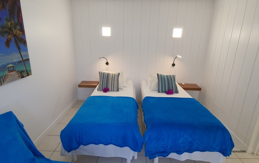 Location de vacances - Appartement à Saint-François - 3ème chambre possibilité 2 lits simples, également un canapé consertible