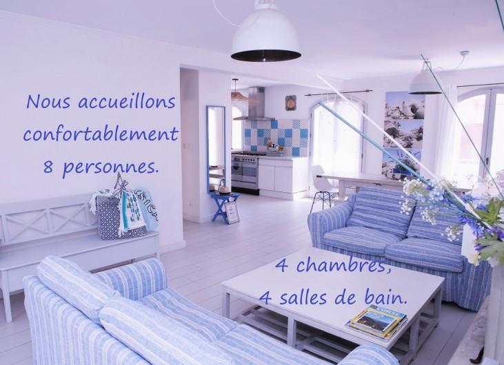 Location de vacances - Villa à Calvi - Chambres 2 lits simples