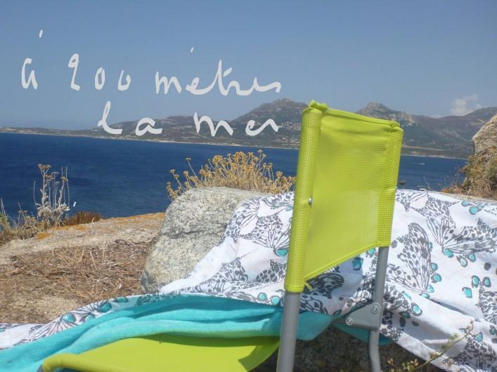 Location de vacances - Villa à Calvi - A 200 mètres de chez nous.