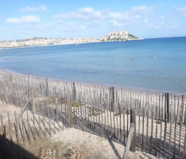 Location de vacances - Villa à Calvi - Plage de Calvi.