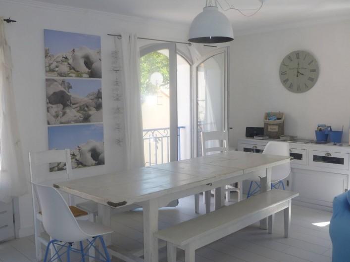 Location de vacances - Villa à Calvi - Salle à manger