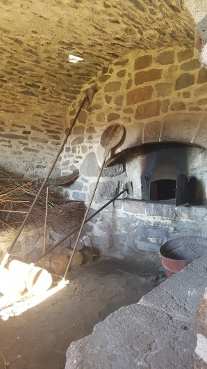 Location de vacances - Villa à Valuéjols - Intérieur du four à pain