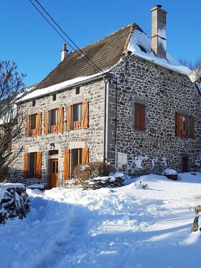 Location de vacances - Villa à Valuéjols - sous la neige