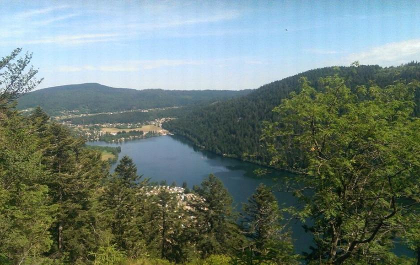 Location de vacances - Chalet à La Bresse - Lac de Retournemer