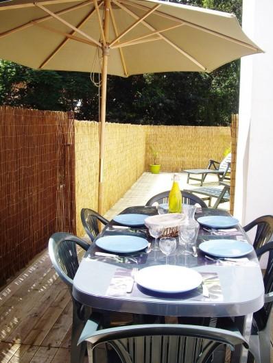 Location de vacances - Appartement à Saint-Brevin-les-Pins - Locations Vacances : Appartement avec grande terrasse exposée plein sud