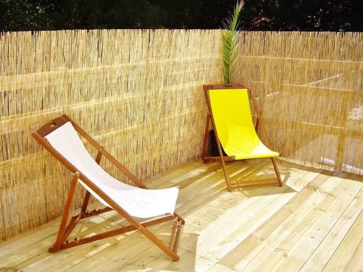 Location de vacances - Appartement à Saint-Brevin-les-Pins - Appartement Vacances Bord de Mer, 200M PLAGE Grande terrasse sur Toit-Terrasse