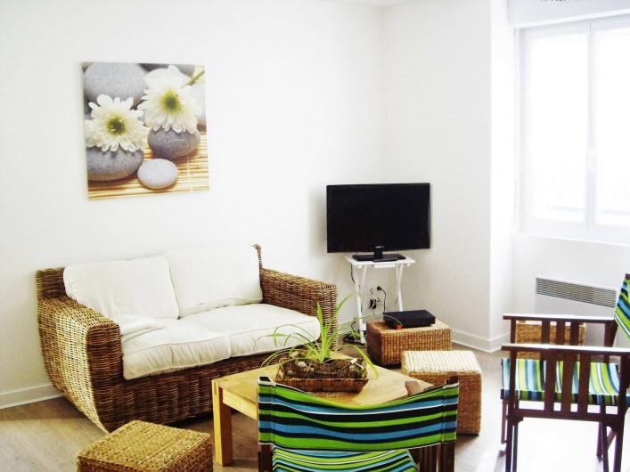 Location de vacances - Appartement à Saint-Brevin-les-Pins - Location de Vacances : Appartement bord de mer tout confort dans la pinède
