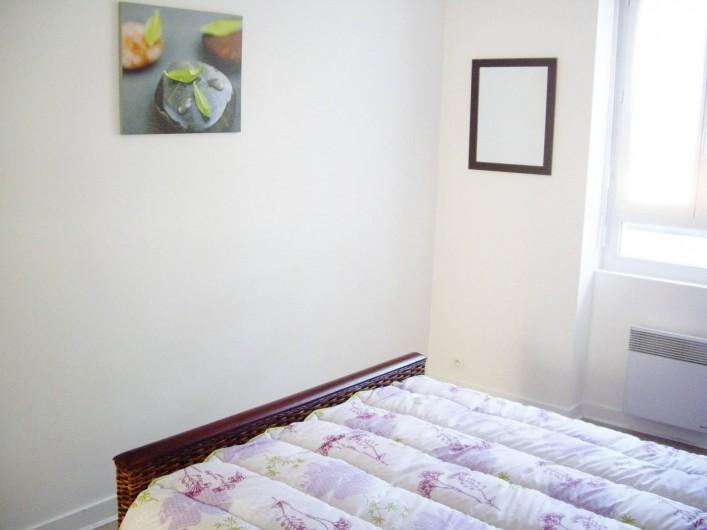 Location de vacances - Appartement à Saint-Brevin-les-Pins - Location Appartement Vacances : Chambre adultes lit double