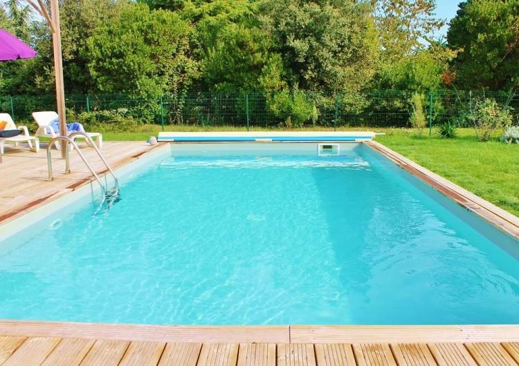 Location de vacances - Villa à Saint-Vincent-sur-Jard - piscine 8x4