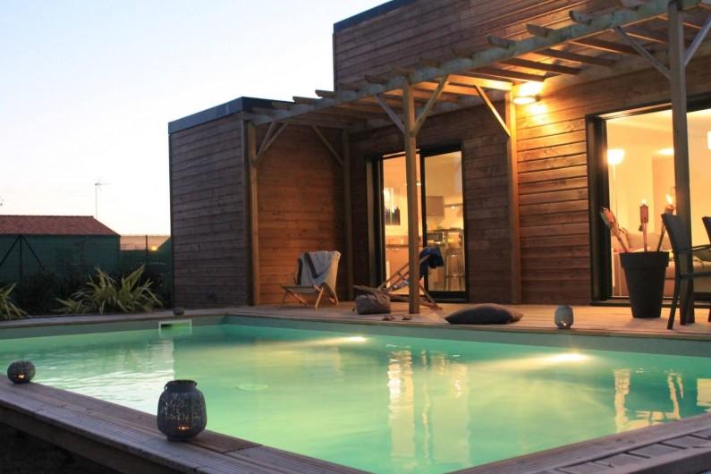 Location de vacances - Villa à Saint-Vincent-sur-Jard - calme et détente