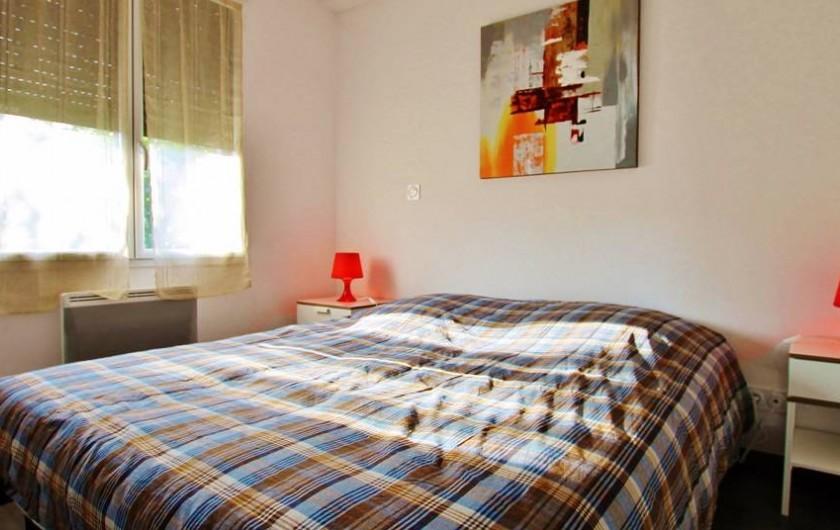 Location de vacances - Villa à Saint-Vincent-sur-Jard - chambre double