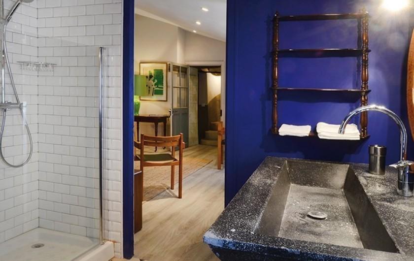 Location de vacances - Studio à L'Isle-sur-la-Sorgue - Klein : salle de douche