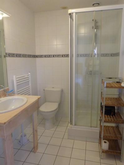 Location de vacances - Chambre d'hôtes à Gujan-Mestras - Salle d'eau