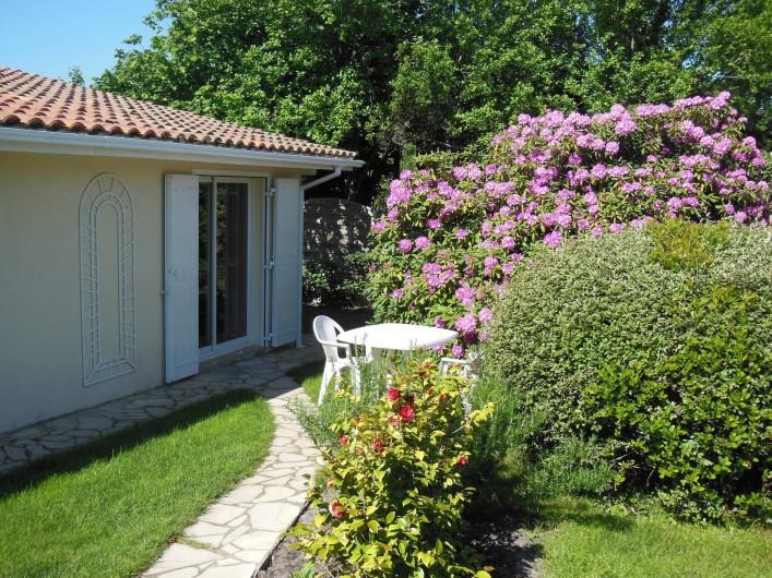 Location de vacances - Chambre d'hôtes à Gujan-Mestras - Entrée de la chambre