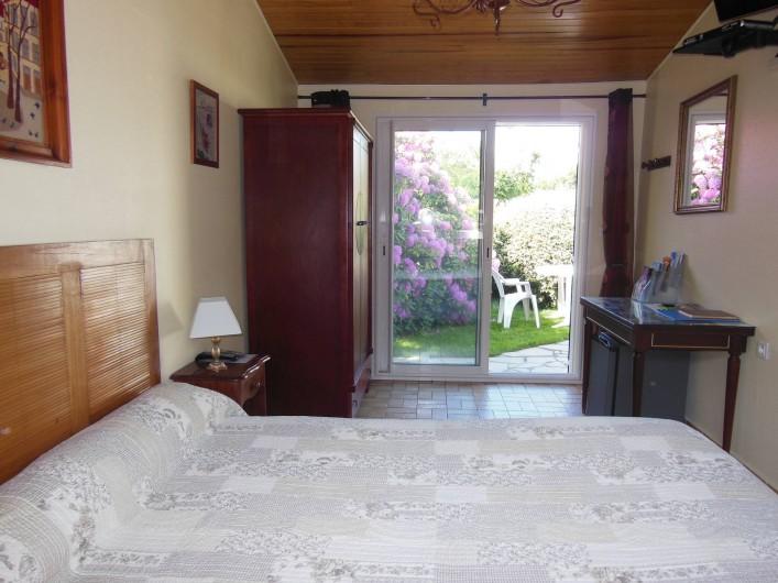 Location de vacances - Chambre d'hôtes à Gujan-Mestras - Vue de la fenêtre de la chambre