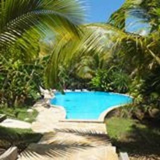 Location de vacances - Bungalow - Mobilhome à Sainte-Anne - Piscine Gwada rêves , dans la végétation  12 m X 7 m