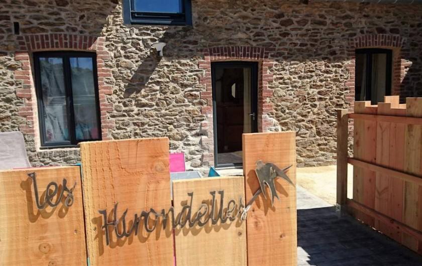 """Location de vacances - Gîte à Saint-Jouan-des-Guérets - """"Les Hirondelles"""""""
