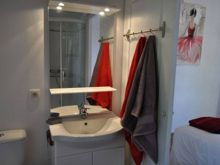 Location de vacances - Villa à Saint-Génies-de-Malgoirès - Ben privative