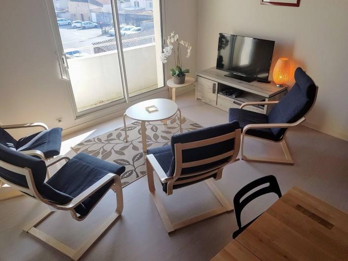 Location de vacances - Appartement à Les Herbiers - coin salon