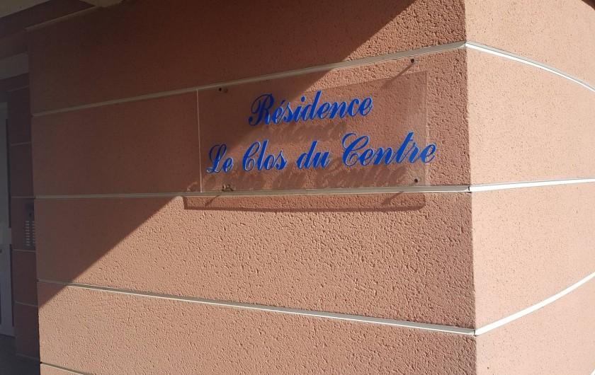Location de vacances - Appartement à Les Herbiers - Résidence Clos Du Centre
