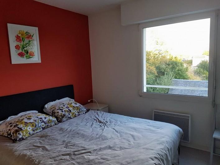 Location de vacances - Appartement à Les Herbiers - chambre avec un lit de 160