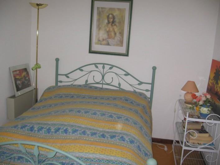Location de vacances - Maison - Villa à Vallon-Pont-d'Arc - la chambre des parents