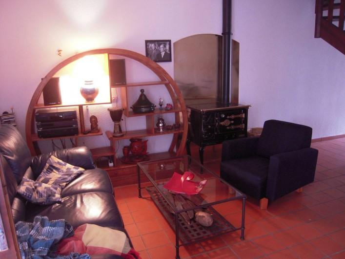 Location de vacances - Maison - Villa à Vallon-Pont-d'Arc - le salon