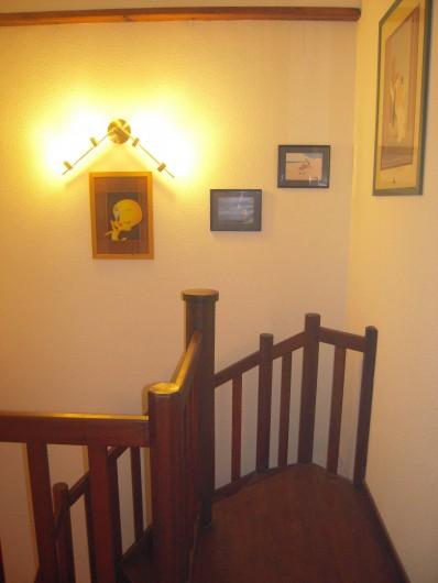 Location de vacances - Maison - Villa à Vallon-Pont-d'Arc - le hall du 1er étage