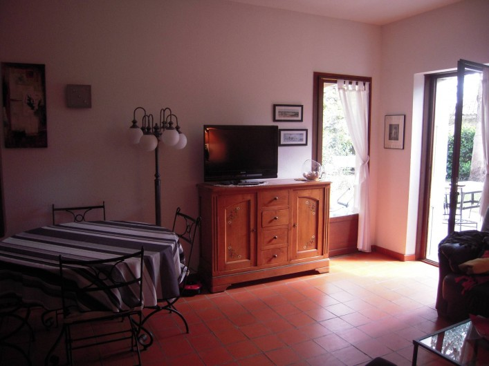 Location de vacances - Maison - Villa à Vallon-Pont-d'Arc - le salon