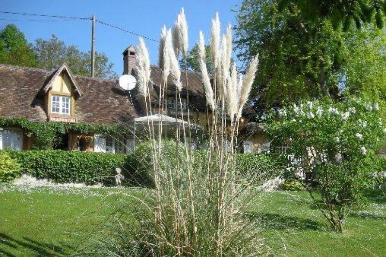 Location de vacances - Chambre d'hôtes à Les Andelys - Le jardin clos de l'Erablière