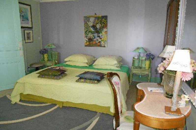 """Location de vacances - Chambre d'hôtes à Les Andelys - Les """"Hortensias"""" chambre double"""