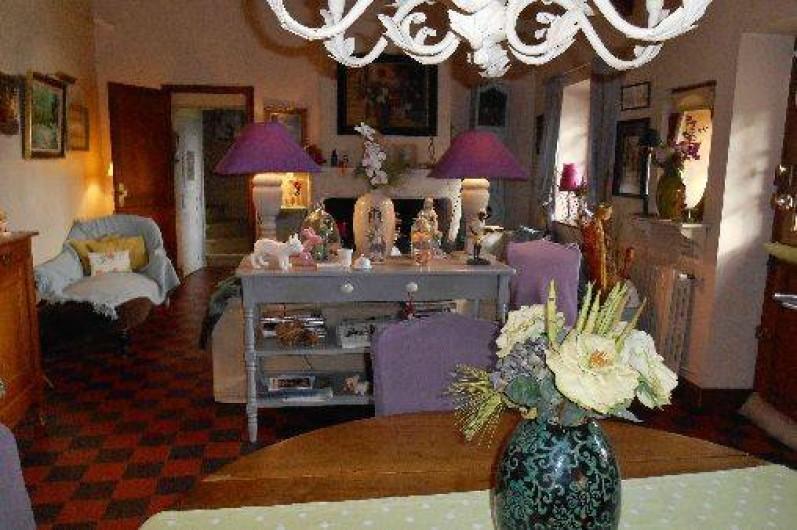 Location de vacances - Chambre d'hôtes à Les Andelys - Vue à partir de la salle a manger de la maison