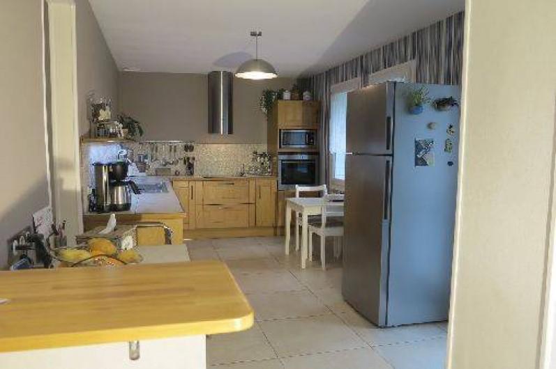 Location de vacances - Gîte à Barentin - cuisine