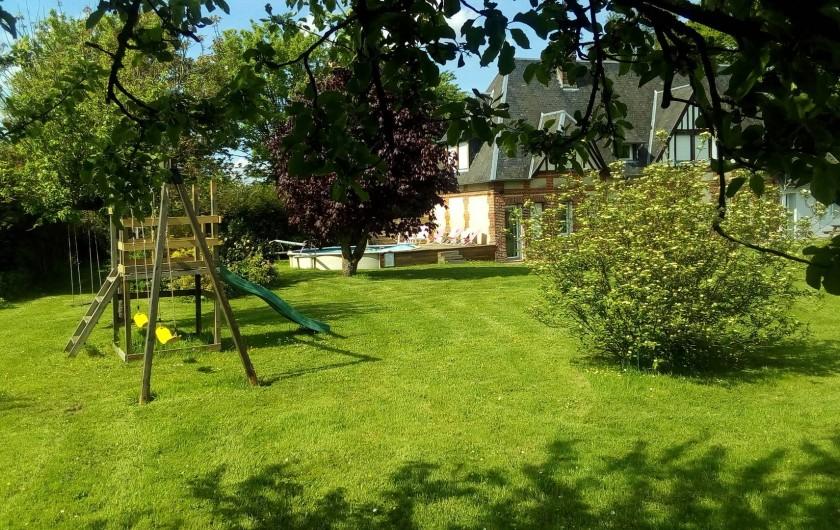Location de vacances - Gîte à Barentin - jardin