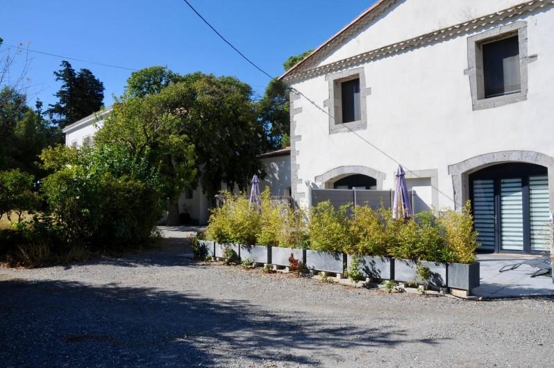 Location de vacances - Gîte à Frontignan - Bâtiment des gîtes
