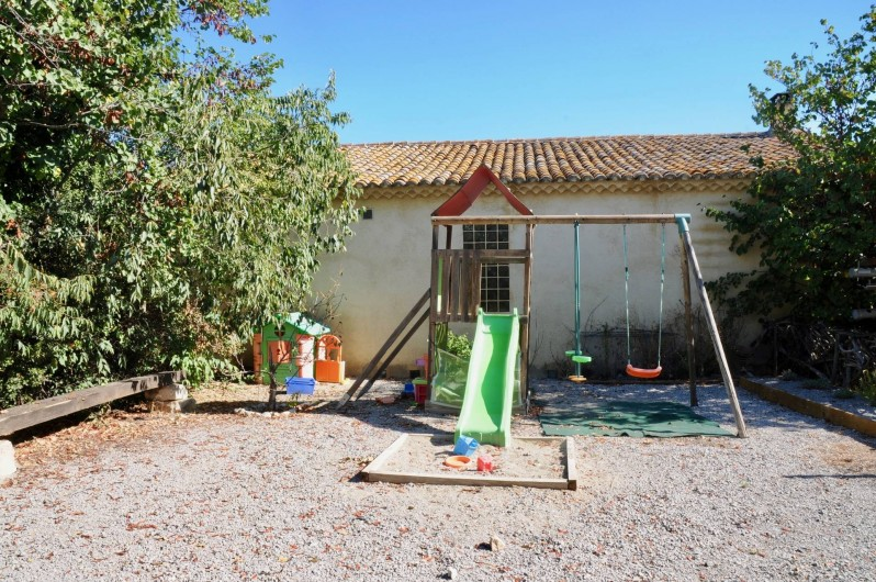 Location de vacances - Gîte à Frontignan - Parc de jeux pour enfants