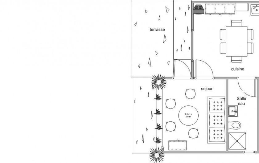 Location de vacances - Appartement à Frontignan - PLAN LOCATION
