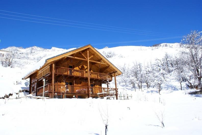 Location de vacances - Chalet à Saint-Paul-sur-Ubaye - le chalet