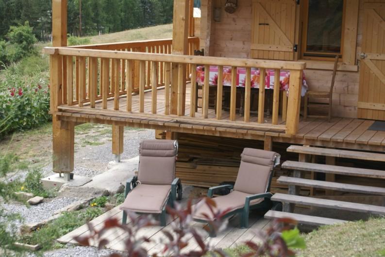 Location de vacances - Chalet à Saint-Paul-sur-Ubaye - pour se détendre